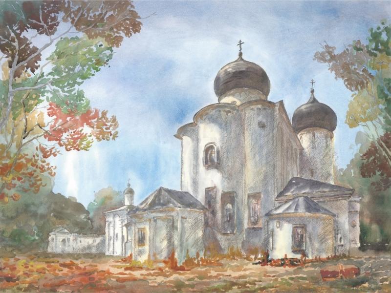 Великий Новгород - Антониев монастырь