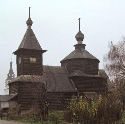 Церковь Сергия Радонежского из Красного