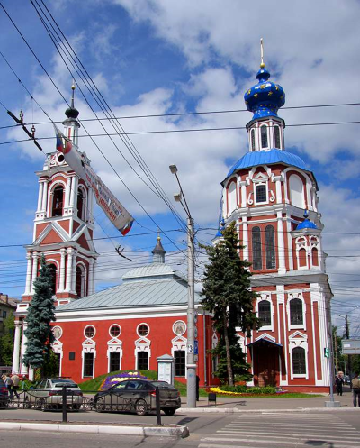 Церковь Иоанна Предтечи в Калуге