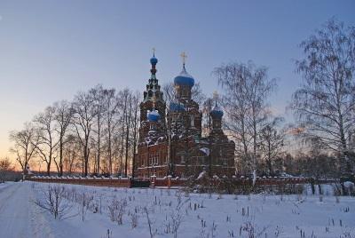 Храм Покрова Пресвятой Богородицы в посёлке Черкизово