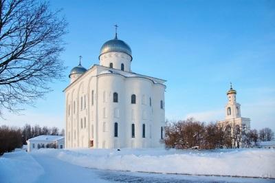 Юрьевецкий монастырь в Новгороде